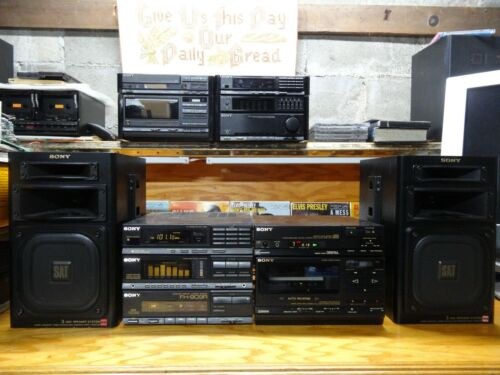 Extremely rare Sony FH-909R Compact Hi-density Component system