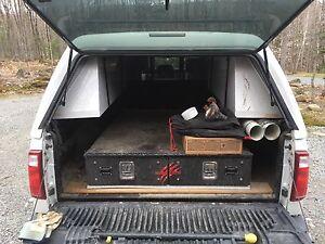 Tiroirs pour boite de camion
