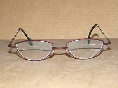 "THEO ""Castafiori"" purple titanium eyeglass frames - NEW fashion Made in Belgium"