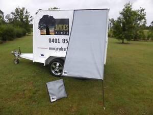 PREMIUM Caravan Fridge / Window Shade STIRLING SILVER Childers Bundaberg Surrounds Preview