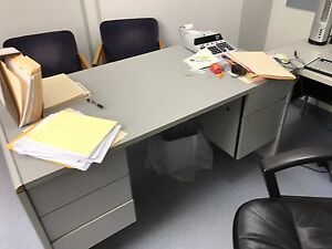 Grey Home/Office Desk
