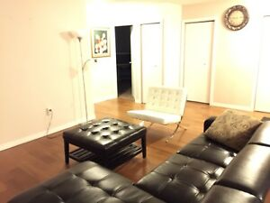 Bedroom for Rent in Downtown Condo with Underground Parking