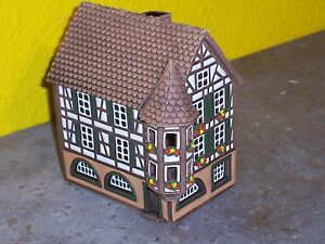 Clay Candle House - Hand made in Lithuania - item 001