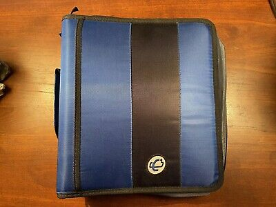 Case-it Binder - 3 Ring - 2 Inch - Blue And Black - W221 - Great Condition