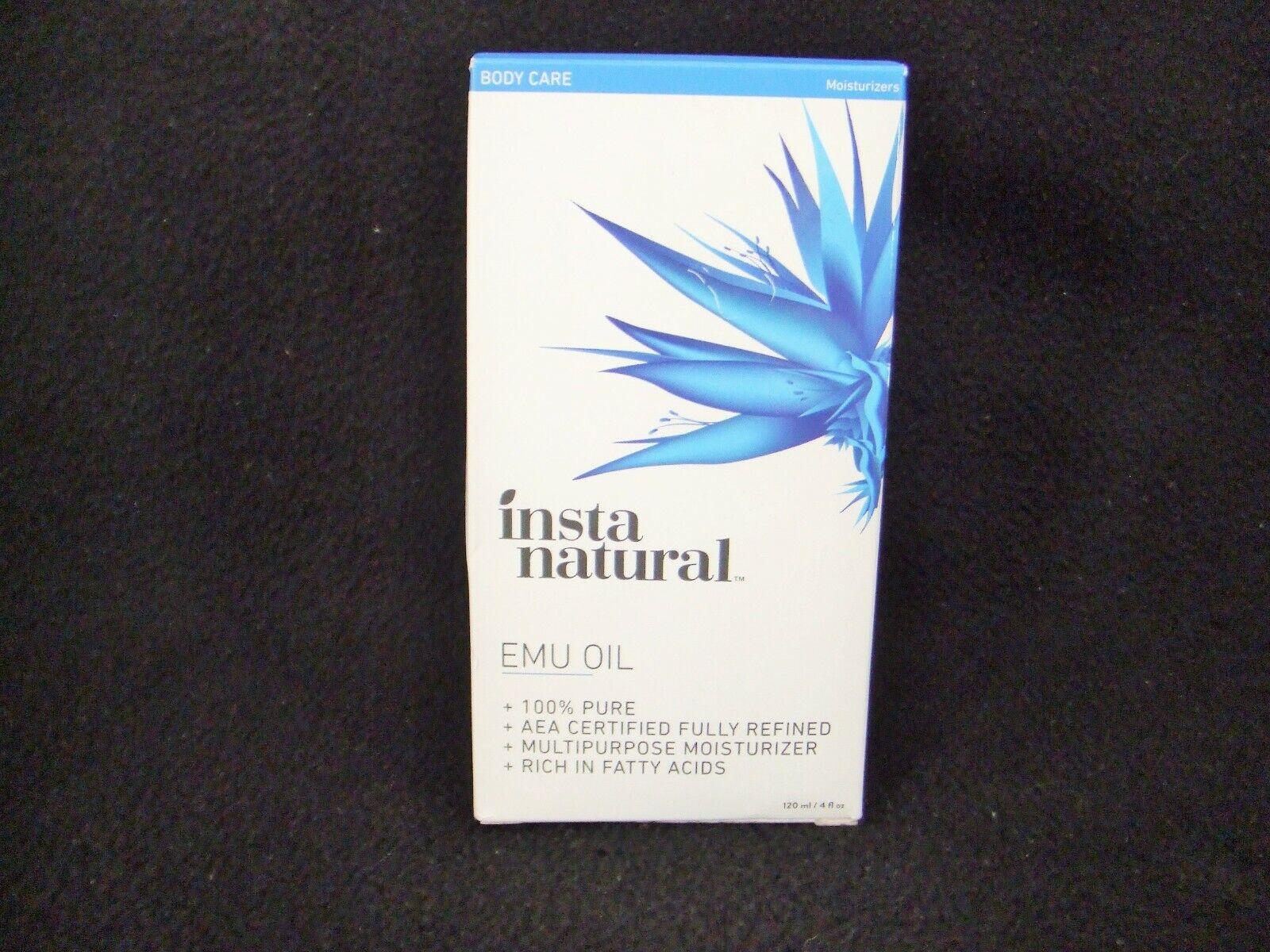 Insta Natural 100% Pure Emu Oil ~ Multipurpose Moisturizer ~
