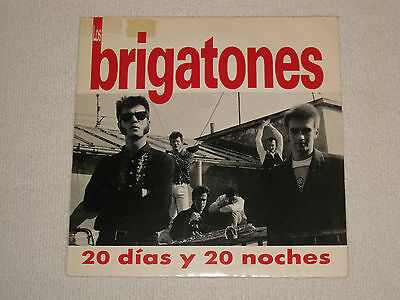 "LOS BRIGATONES 20 DIAS Y 20 NOCHES 80´S SPANISH MOD BAND ORIGINAL ISSUE 7"", used for sale  Shipping to South Africa"