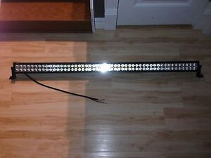 """52""""led light bar with wiring harness"""