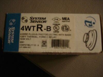 System Sensor 4wtr-b New