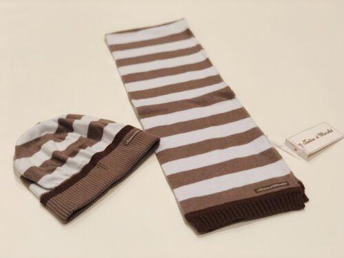 Kids Tartine et Chocolat Striped Scarf & Hat Set - Cashmere Blend - Size T3