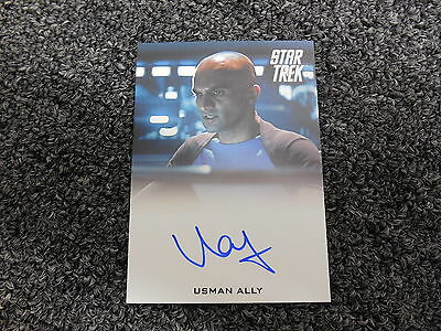 2014 Star Trek The Movies Into Darkness   Usman Ally As Bridge Officer Autograph