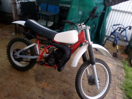 Yz 125 with dt175 engine