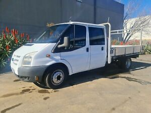 2010 Ford Transit Dual Cab Chassis