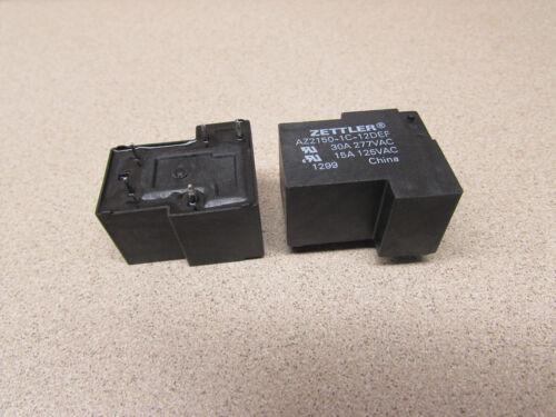 ZETTLER AZ2150-1C-12DEF RELAY *LOT OF TWO (2)*