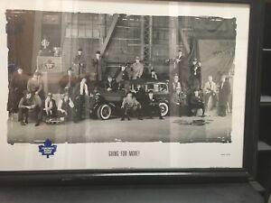 Toronto Maple Leafs framed picture (numbered)