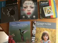 Photography books-like new.