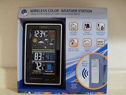 La Crosse Technology Wireless Color Weather Forecast Station + Atomic Clock