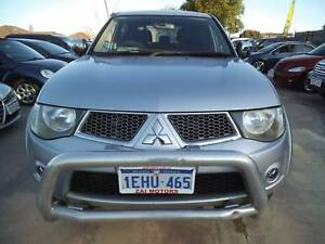 2011 Mitsubishi Triton GLX-R 4X4 DUAL CAB DIESEL $17990