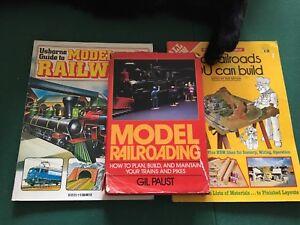 Three model railroad books