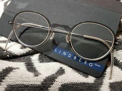 Lindberg N.O.W. titanium Brille mit optischen Gläsern! Kaum getragen, NEUWERTIG!