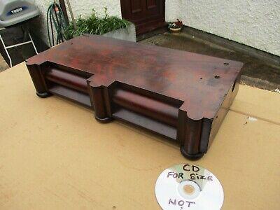 VINTAGE BASE  FOR   DRESSING TABLE TOP SWIVEL MIRROR. WITH  2  DRAWERS.