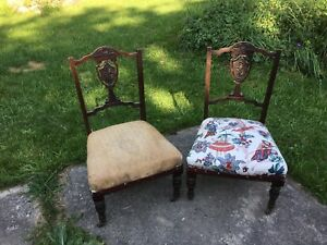 Victorian Slipper Chair NEW PRICE