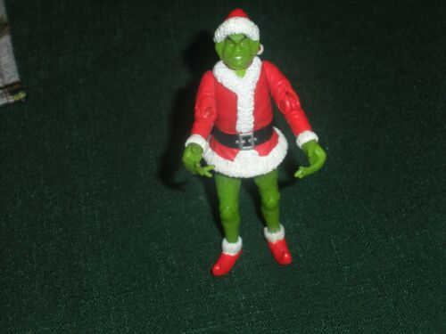 2000 PLAYMATES TOYS HOW THE GRINCH STOLE CHRISTMAS GRINCH ACTION FIGURE-EUC