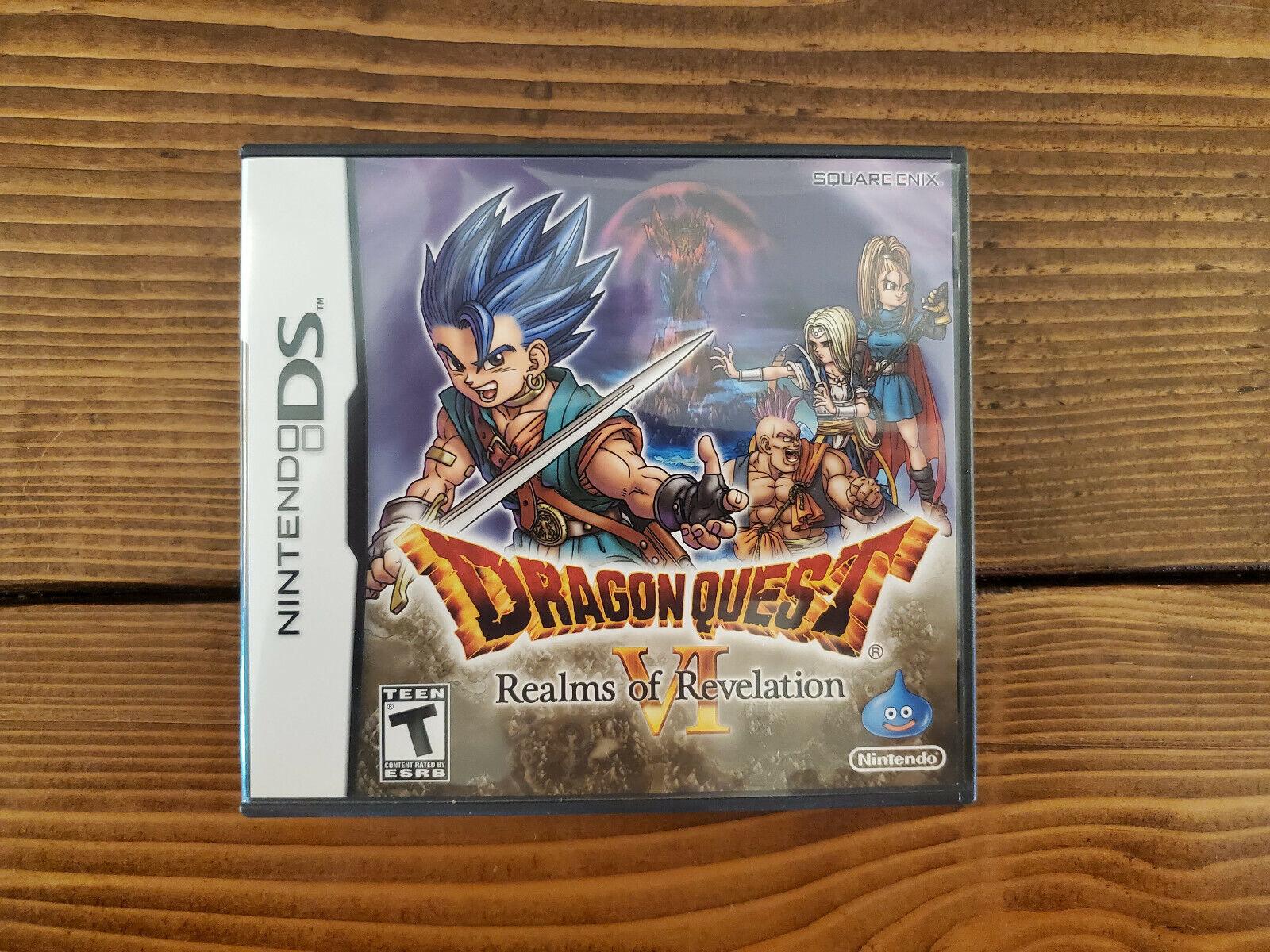 Dragon Quest VI 6 Realms Of Revelation Nintendo DS - Complete - $174.99