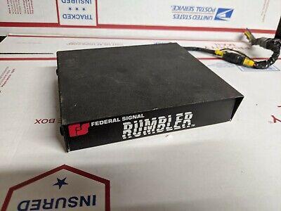 Federal Signal Rumbler Amplifier Brain