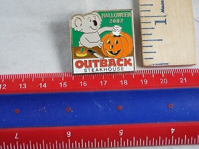 OUTBACK STEAKHOUSE PIN HALLOWEEN 2002](Outback Halloween)