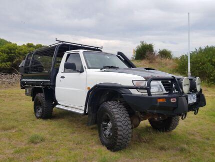 2002 GU Nissan Patrol TD42 Ute