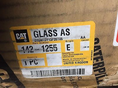 1421255 Cat Glass Caterpillar 142-1255 - Fits Excavator 320b 320b L 320b N