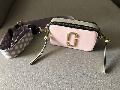 Marc Jacobs Snapshot Small Camera Bag Blush Multi. SUPER Zustand! Hot Snap