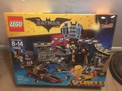 LEGO 70909 The Batman Movie Batcave Break-in New Sealed Box