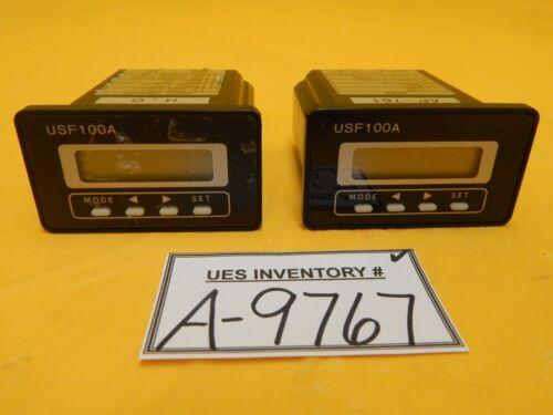 Tokyo Flow Meter USF100A-K15EP Ultrasonic Flow Meter USF100A Honda Lot of 2 Used