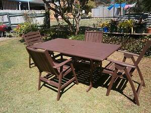 KWILA TABLE / 4 CHAIRS Clontarf Redcliffe Area Preview