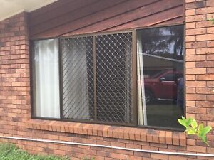 Windows bronze aluminium