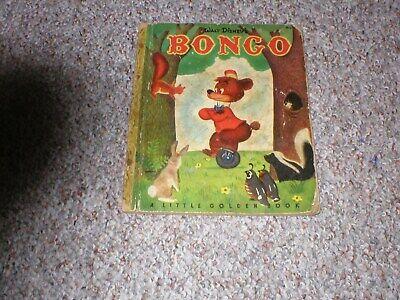 Bongo A Little Golden Book 1948 (Bongos Book)