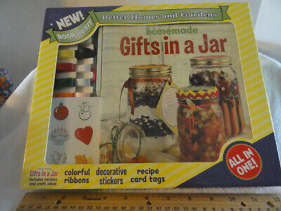 Better Homes & Gardens Homemade Gifts In a Jar Book and Kit All In