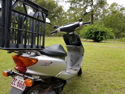 Yamaha 50cc mopehead 2005model