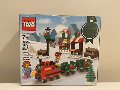Lego Holiday Christmas Train Ride Set 40262 Brand New Factory Sealed