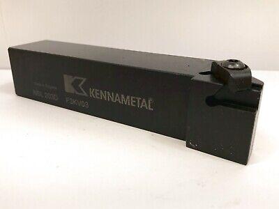 Kennametal Nsl 203d F3kv03 Insert Tool Top Notch Holder 1-14 Shank 1pc New