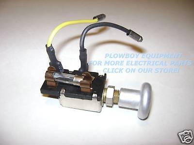New Ford Tractor Light Switch 2n 9n 9n11652b Knob Fuse