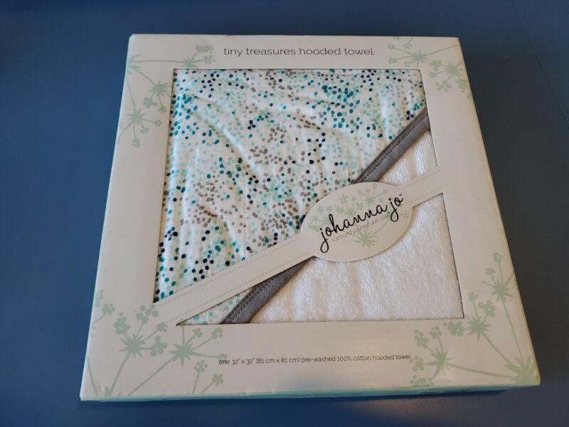 Johanna Jo - Tiny Treasures Hooded Towel - Fundot
