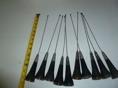 Lot Of Ten 450-470 Mhz Uhf Two Way Radio Antenna Lp15