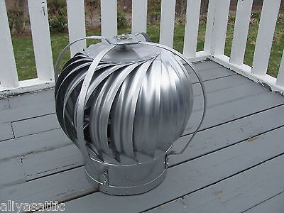 Quality Wind Turbine Cooling Fan Roof Mount NOS Wisper Cool Made in USA 12