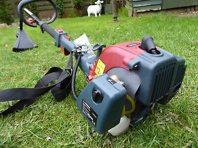 NEW SOVEREIGN CDB26A 2 STROKE PETROL STRIMMER WITH SPLIT SHAFT & HARNESS