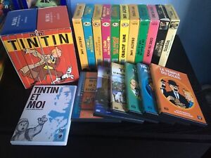 Collection DVD/VHS de Tintin
