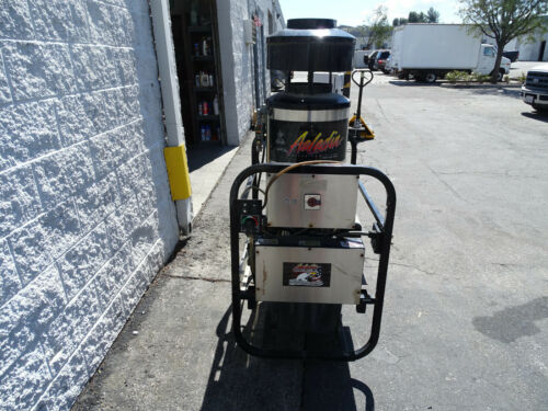 Aaladin 16-525 SS LP Fuel Hot Water Pressure Washer 8HP 1PH 230V 2500PSI 25GPM