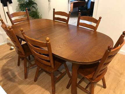 Dining Table Matching Buffet