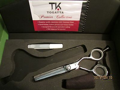 Premier Shears - ~*TOGATTA*~30 TOOTH~RIGHT HANDED~PREMIER THINNING SHEAR~STAINLESS~USED ONCE